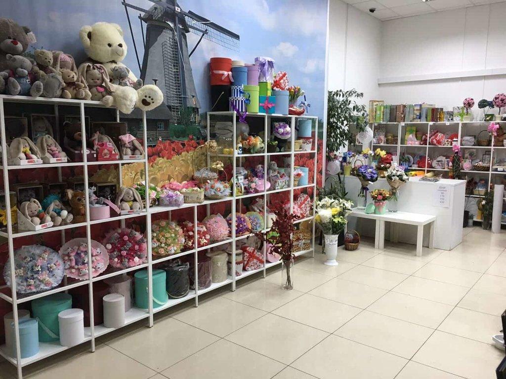 Салон цветов внутри
