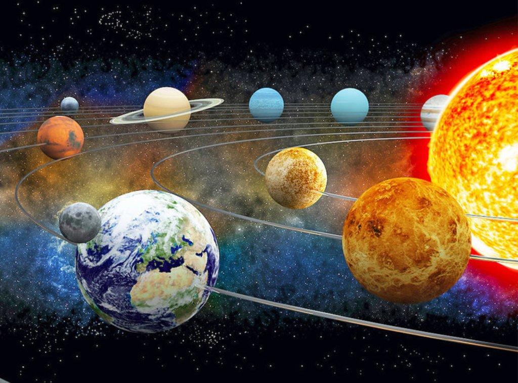 допускается солнечная система смотреть картинки является действующим вулканом