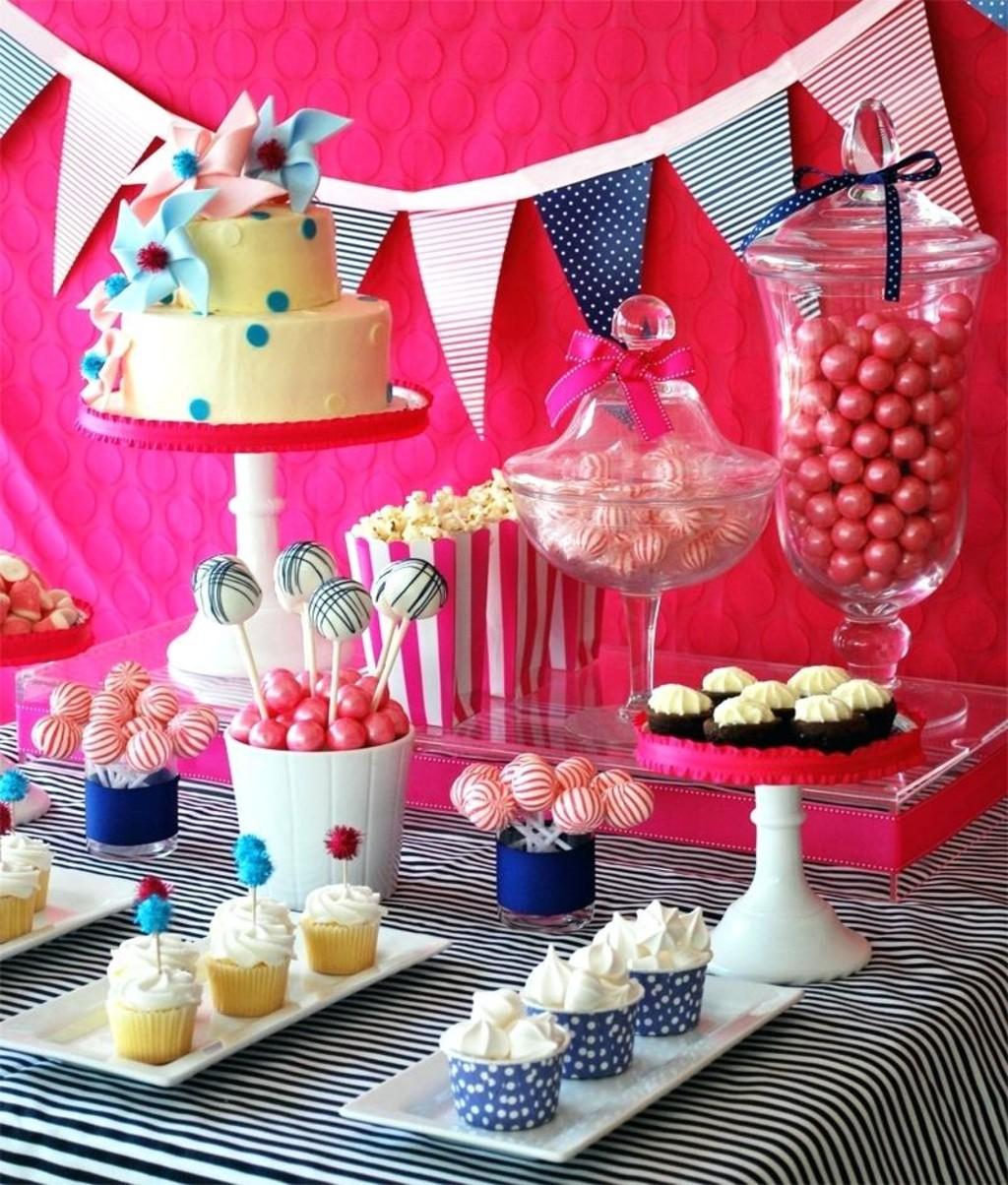 сладкий стол детский день