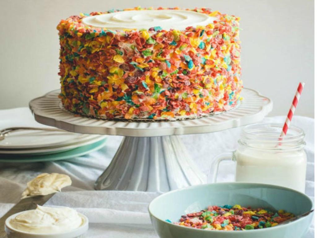 Как красиво украсить торт посыпками фото
